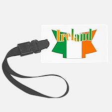 Irish flag ribbon Luggage Tag