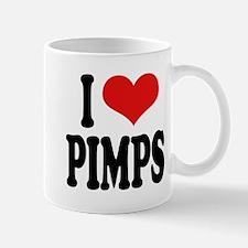I Love Pimps Mug