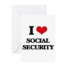 I love Social Security Greeting Cards