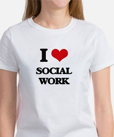 I love Social Work T-Shirt
