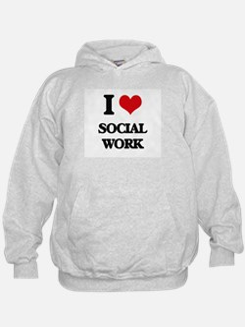 I love Social Work Hoodie