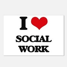 I love Social Work Postcards (Package of 8)