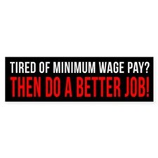 Tired of minimum wage page, then do a better job.