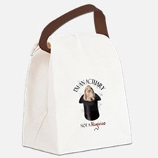 Funny Actuary Canvas Lunch Bag