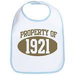 Property of 1921 Bib