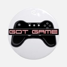 Got Game 2 Ornament (Round)