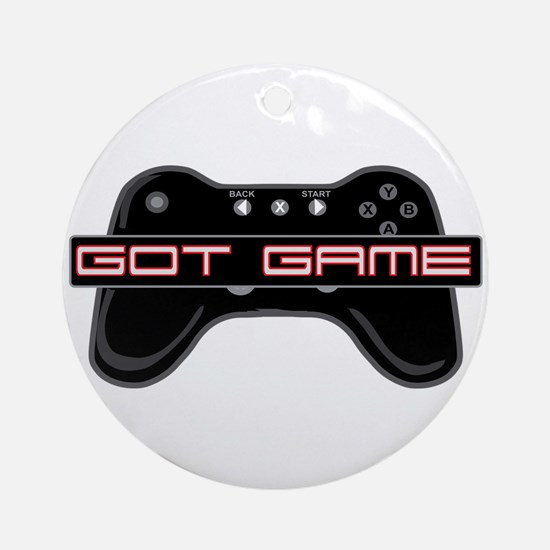 Got Game 2 Ornament (Round)