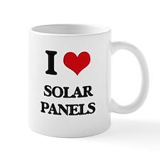 I Love Solar Panels Mugs