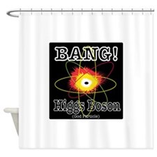 HIGGS BOSON Shower Curtain