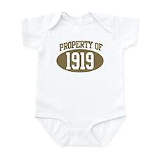 Property of 1919 Infant Bodysuit