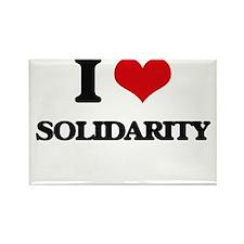 I love Solidarity Magnets