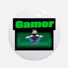 Gamer.png Ornament (Round)