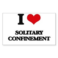 I love Solitary Confinement Decal