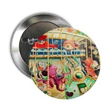"Nautical Carousel 2.25"" Button (10 pack)"