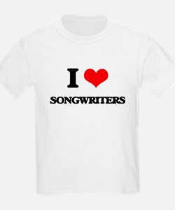 I love Songwriters T-Shirt