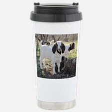 Twin Kids In The Woods Stainless Steel Travel Mug