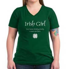 Irish Girl Drinking Buddy T-Shirt