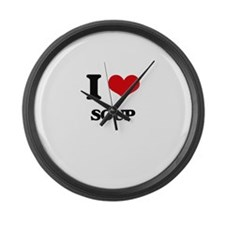 I love Soup Large Wall Clock