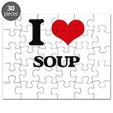 I love Soup Puzzle