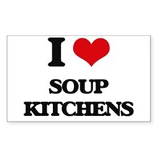 I love Soup Kitchens Decal