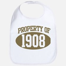 Property of 1908 Bib
