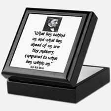 EMERSON - WHAT LIES WITHIN US. Keepsake Box