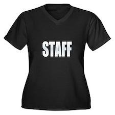 Staff Plus Size T-Shirt