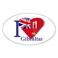I love Gibraltar CE Decal