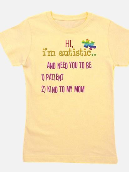 Hi,autism awareness tee T-Shirt