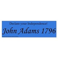 John Adams for President 1796. Election campaign.