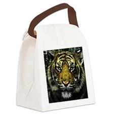 Funny Tigers Canvas Lunch Bag