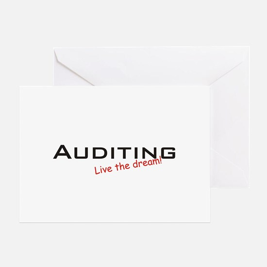 Auditing / Dream! Greeting Cards