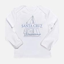 Santa Cruz CA - Long Sleeve Infant T-Shirt