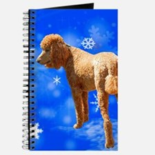 Cool Red poodle Journal