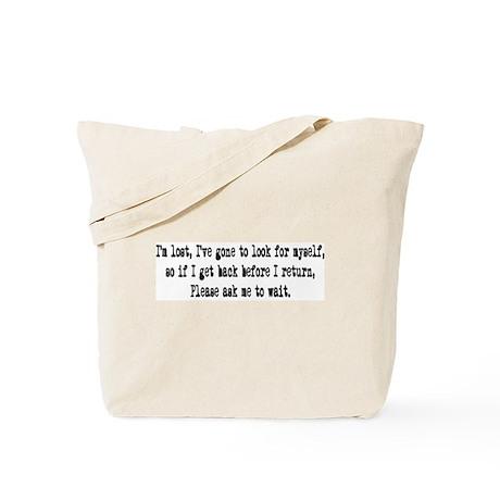 I' m lost Tote Bag