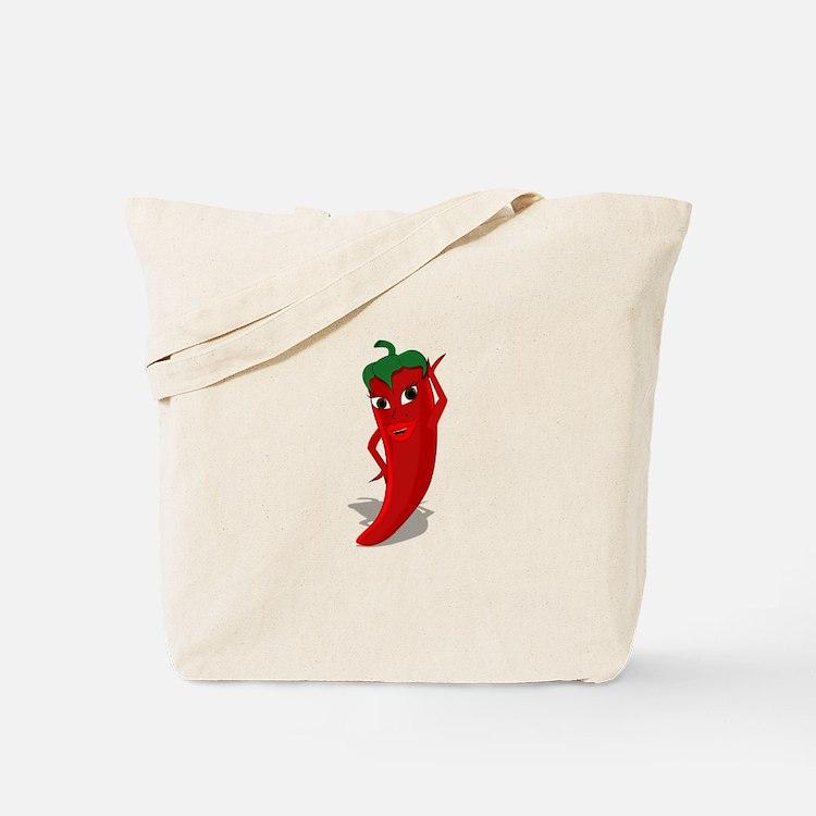 Chili Diva Tote Bag