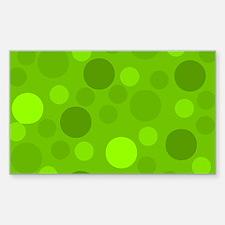 Green Lime Green Light Dark Modern Dots Gr Decal