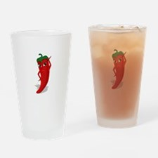 Chili Diva Drinking Glass