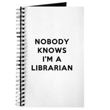 Nobody Knows I'm A Librarian Journal