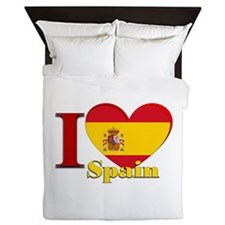 I love Spain - Espana Queen Duvet