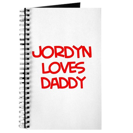 Jordyn Loves Daddy Journal