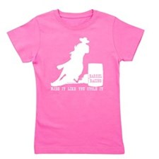 Cute Equine Girl's Tee