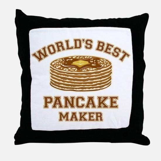 Best Pancake Maker Throw Pillow