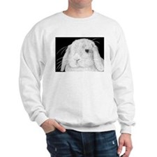 Cute Bunny drawing Sweatshirt