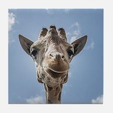 Cool Giraffe Tile Coaster