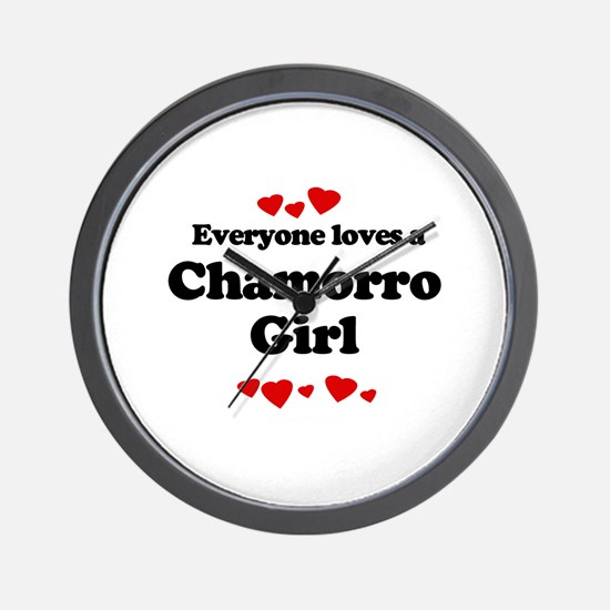 Everyone loves a Chamorro Wall Clock