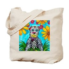 Kasey the Schnauzer Tote Bag
