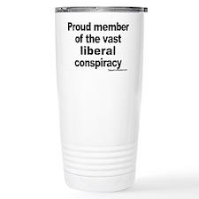 Cute Liberal Travel Mug