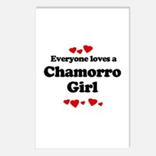 Everyone loves a Chamorro Postcards (Package of 8)