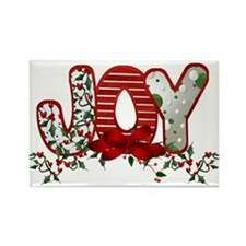 Cute Christmas Rectangle Magnet (10 pack)